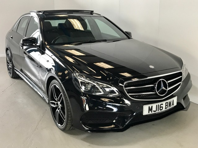 Used Mercedes Benz E-class E250 Amg Night Edition Premium Saloon