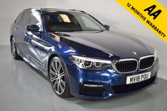 Used BMW 5 Series 530d Xdrive M Sport Touring Estate