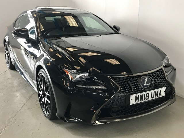 Used Lexus Rc 300h F Sport Black Edition LSs Plus Coupe