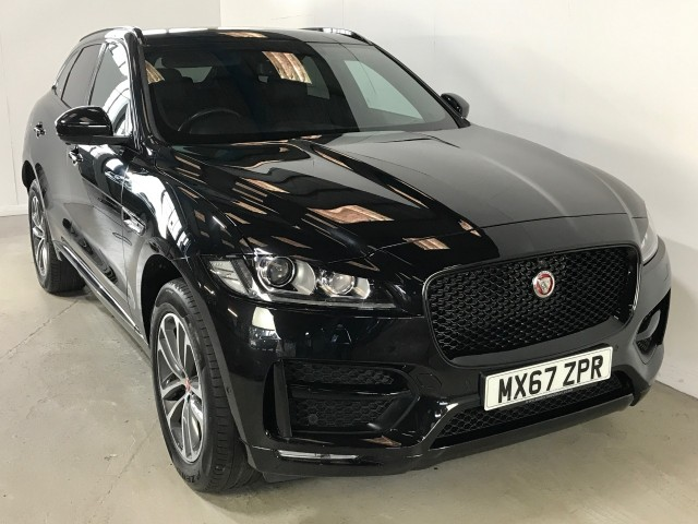Used Jaguar F-pace R-sport Awd Estate