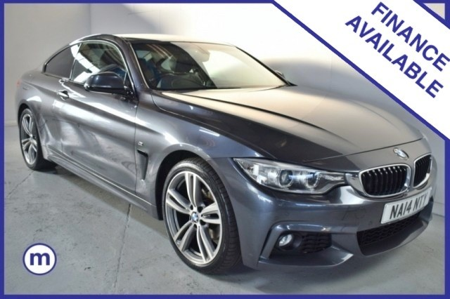 Used BMW 4 Series 420d Xdrive M Sport Coupe