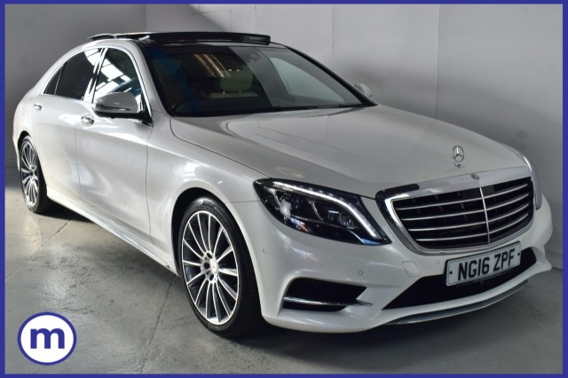 Used Mercedes Benz S-class S 350 D L Amg Line Premium Plus Saloon