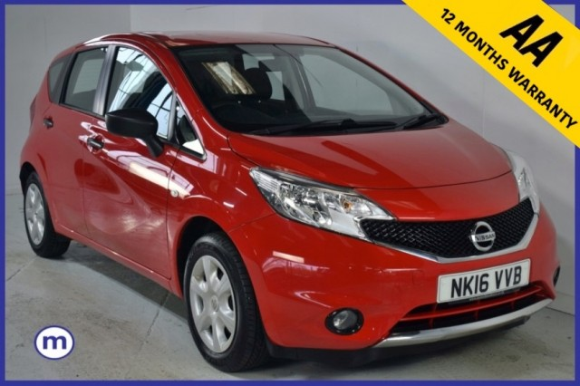 Used Nissan Note Visia MPV