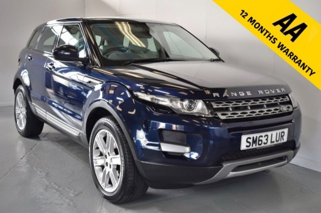 Used Land Rover Range Rover Evoque Ed4 Pure Suv