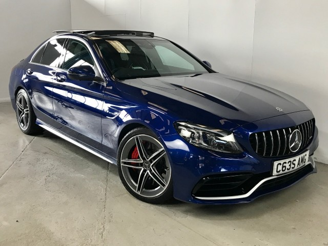 Used Mercedes Benz C-class Amg C 63 S Premium Plus Saloon