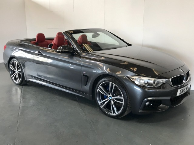 Used BMW 4 Series 420i M Sport Convertible