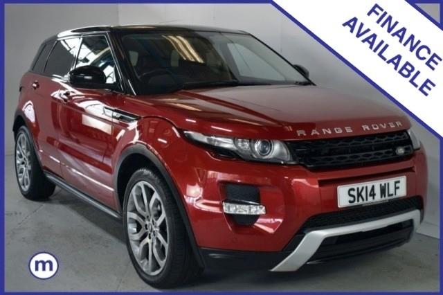 Used Land Rover Range Rover Evoque Sd4 Dynamic Suv
