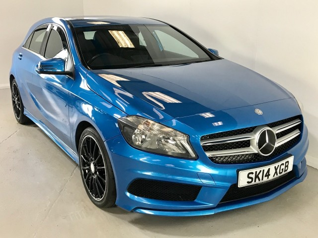 Mercedes Benz A-class A180 CDi BlueeffiCiency Amg Sport Hatchback
