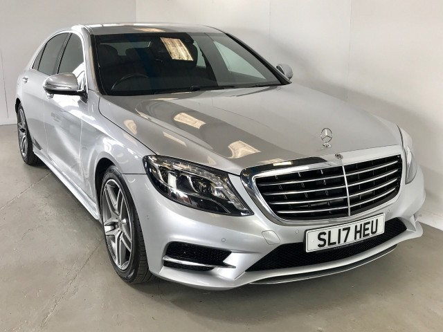 Used Mercedes Benz S-class S 350 D L Amg Line Executive Saloon