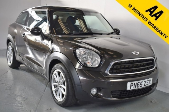 Used Mini Paceman Cooper D Coupe