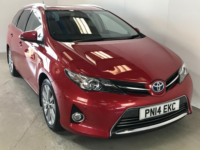 Used Toyota Auris VVT-i Excel Estate
