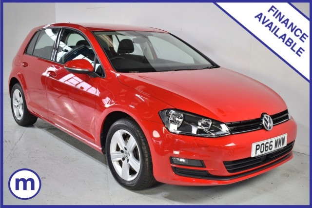 Used Volkswagen Golf Match Edition TDi Bmt Hatchback