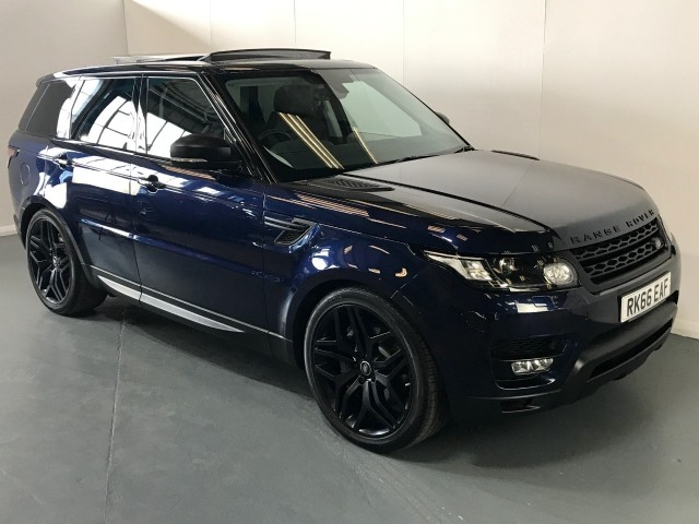 Used Land Rover Range Rover Sport Sdv6 Hse Dynamic Suv