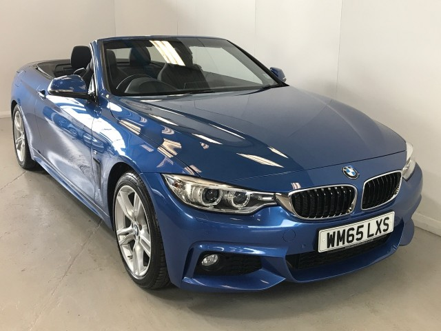 Used BMW 4 Series 420d M Sport Convertible
