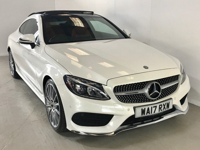 Used Mercedes Benz C-class C 220 D Amg Line Premium Plus Coupe