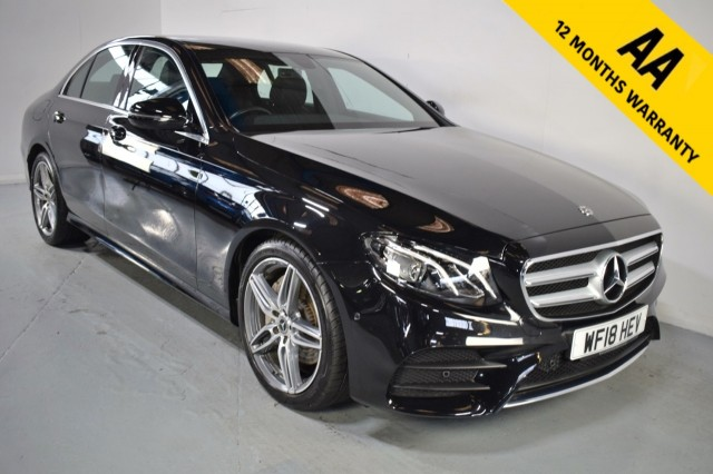 Used Mercedes Benz E-class E 220 D Amg Line Saloon