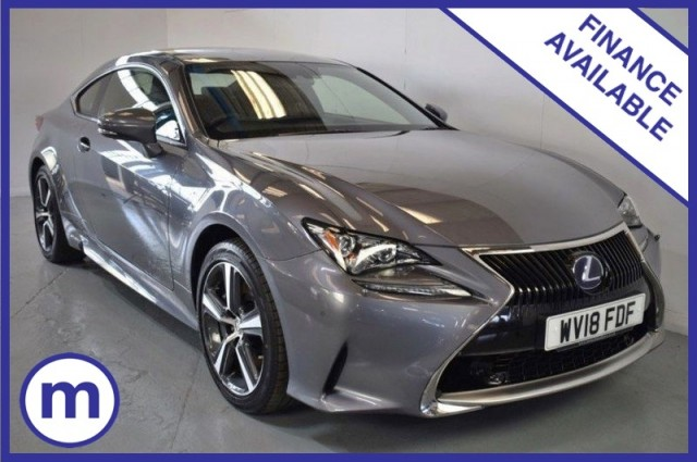 Used Lexus Rc 300h Luxury LSs Plus Coupe