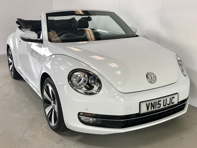 Used Volkswagen Beetle Design Tsi Bluemotion Technology Convertible