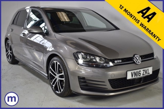 Used Volkswagen Golf GTD DSG Hatchback