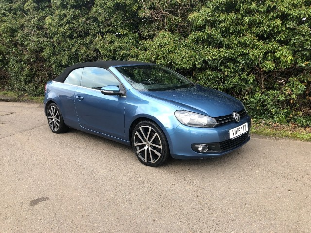 Used Volkswagen Golf GT TDi Bluemotion Technology Convertible