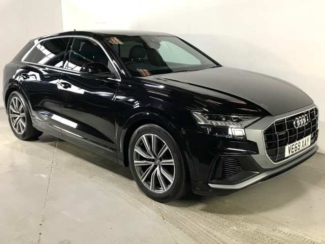 Used Audi Q8 Tfsi Quattro S Line Estate