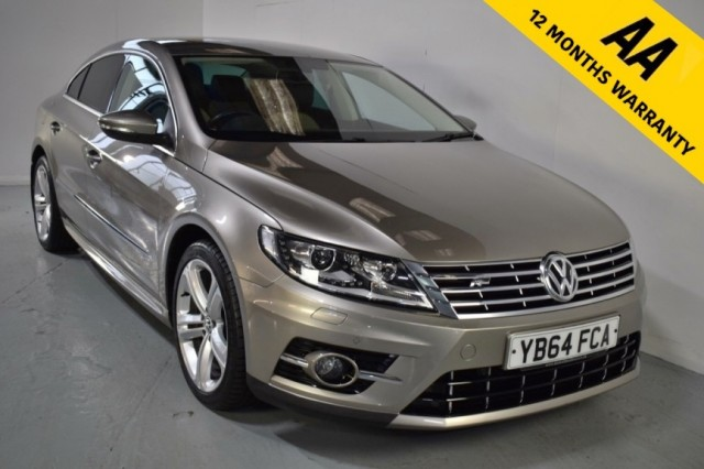 Used Volkswagen CC R Line TDi DSG Bluemotion Technology Coupe