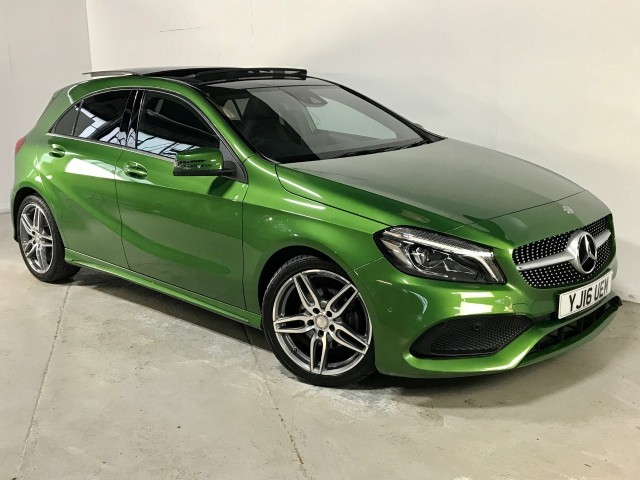Used Mercedes Benz A-class A 200 D Amg Line Premium Plus Hatchback