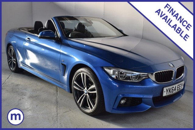 Used BMW 4 Series 435d Xdrive M Sport Convertible