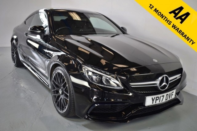 Used Mercedes Benz C-class Amg C 63 Coupe