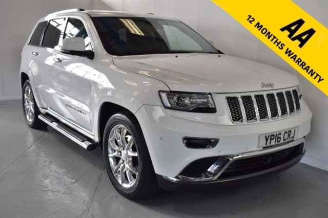 Used Jeep Grand Cherokee V6 CRD Summit Suv