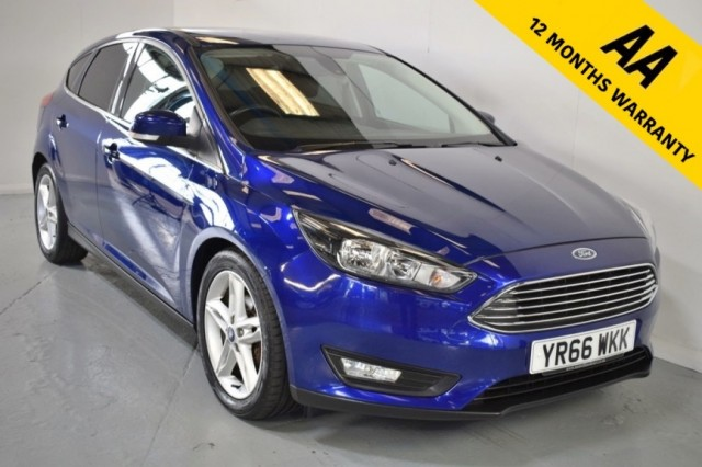 Used Ford Focus Zetec TDCi Hatchback