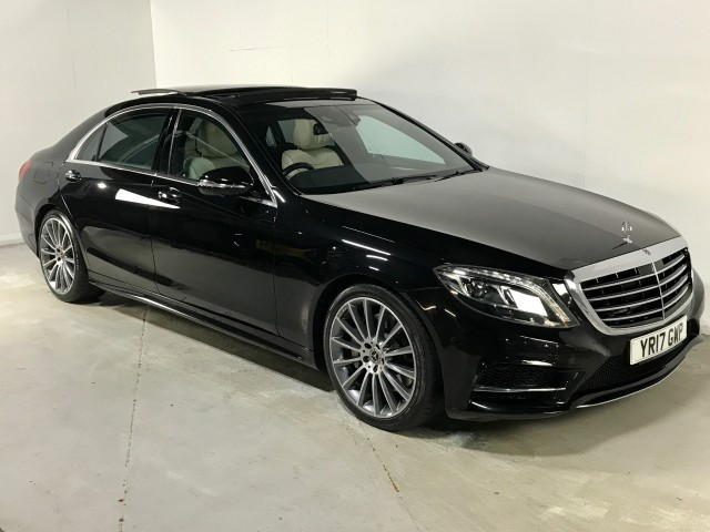 Used Mercedes Benz S-class S 350 D L Amg Line Executive Premium Saloon
