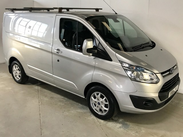 Used Ford Transit Custom 270 Limited Lr P/v Panel Van