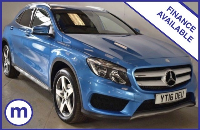 Used Mercedes Benz Gla-class Gla 200 D 4matic Amg Line Estate